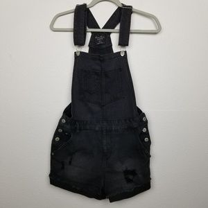 Love Tree Denim | overalls | shorts | faded |